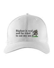 Bigfoot is real Embroidered Hat front