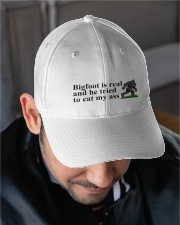 Bigfoot is real Embroidered Hat garment-embroidery-hat-lifestyle-02
