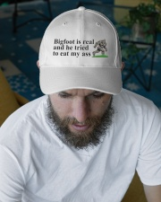 Bigfoot is real Embroidered Hat garment-embroidery-hat-lifestyle-06