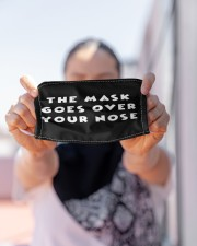 The mask goes over your nose Cloth face mask aos-face-mask-lifestyle-07