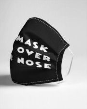 The mask goes over your nose Cloth face mask aos-face-mask-lifestyle-21