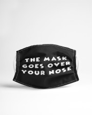 The mask goes over your nose Cloth face mask aos-face-mask-lifestyle-22