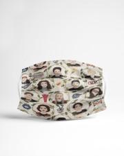 Gilmore Girls Cloth face mask aos-face-mask-lifestyle-22