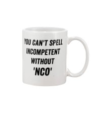 You can't spell Mug front