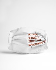 Mother should I trust the government Cloth face mask aos-face-mask-lifestyle-22