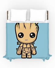 I am a groot Duvet Cover - Queen aos-duvet-covers-88x88-lifestyle-front-01