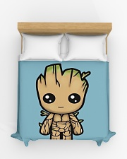 I am a groot Duvet Cover - Queen aos-duvet-covers-88x88-lifestyle-front-03