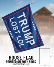 "Trump lost lol 29.5""x39.5"" House Flag aos-house-flag-29-5-x-39-5-ghosted-lifestyle-01"