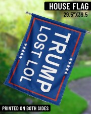 "Trump lost lol 29.5""x39.5"" House Flag aos-house-flag-29-5-x-39-5-ghosted-lifestyle-13"