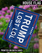 "Trump lost lol 29.5""x39.5"" House Flag aos-house-flag-29-5-x-39-5-ghosted-lifestyle-14"