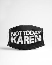 Not today karen Cloth face mask aos-face-mask-lifestyle-22