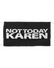 Not today karen Cloth face mask front
