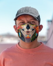 Day of the Dead Calavera Cloth face mask aos-face-mask-lifestyle-06