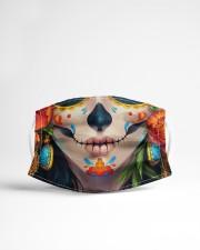 Day of the Dead Calavera Cloth face mask aos-face-mask-lifestyle-22