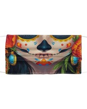 Day of the Dead Calavera Cloth face mask front