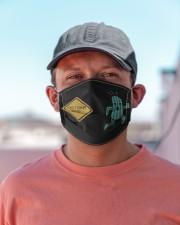 Cactuar xing Cloth face mask aos-face-mask-lifestyle-06