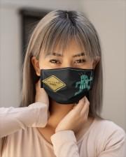 Cactuar xing Cloth face mask aos-face-mask-lifestyle-18
