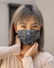 horror evil dead Cloth face mask aos-face-mask-lifestyle-18
