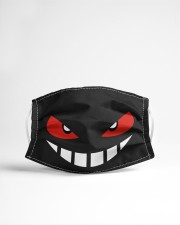 Angry face Cloth face mask aos-face-mask-lifestyle-22