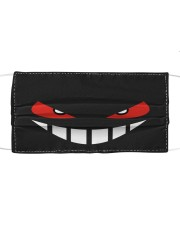 Angry face Cloth face mask front
