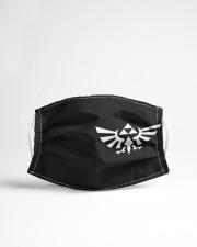 Zelda Triforce Eagle Cloth face mask aos-face-mask-lifestyle-22