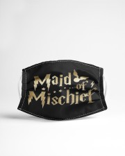 MAID OF MISCHIEF Cloth face mask aos-face-mask-lifestyle-22