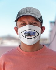 Lightning fast vcr repair logo Cloth face mask aos-face-mask-lifestyle-06