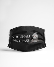 Lord of the Rings Gandalf You Shall Not Pass Cloth face mask aos-face-mask-lifestyle-22