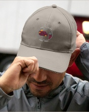 THE TV IS ON FOR YOU  Embroidered Hat garment-embroidery-hat-lifestyle-01