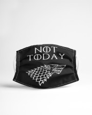 Not Today Cloth face mask aos-face-mask-lifestyle-22