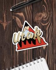 Utah Sticker - Single (Horizontal) aos-sticker-single-horizontal-lifestyle-front-05