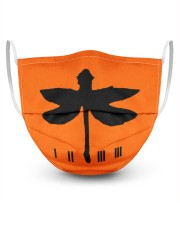 Grasshopper 3 Layer Face Mask - Single front