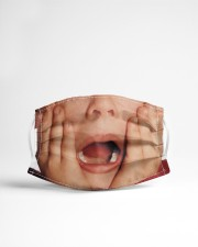 Kevin McCallister Babe Magnet Cloth face mask aos-face-mask-lifestyle-22