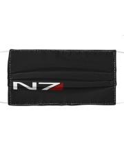 N7 Emblem Mass Effect Cloth face mask front