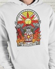 Praise The Sun Hooded Sweatshirt apparel-hooded-sweatshirt-lifestyle-front-63
