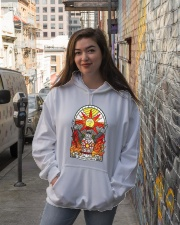 Praise The Sun Hooded Sweatshirt lifestyle-unisex-hoodie-front-1