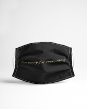 I am sorry for everything Cloth face mask aos-face-mask-lifestyle-22