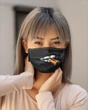 Cigar Cloth face mask aos-face-mask-lifestyle-18