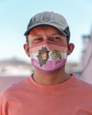 Catra and Adora Cloth face mask aos-face-mask-lifestyle-06