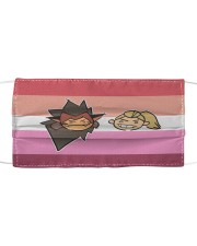 Catra and Adora Cloth face mask front