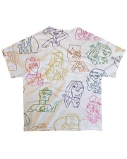 Crazy adults All-over T-Shirt back