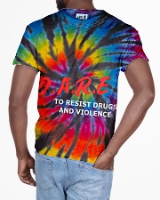Dare to resist drugs and violence All-over T-Shirt aos-all-over-T-shirt-lifestyle-back-03