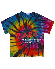 Dare to resist drugs and violence All-over T-Shirt back