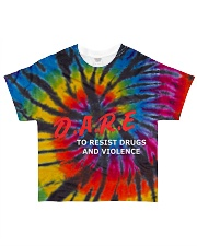 Dare to resist drugs and violence All-over T-Shirt front
