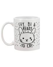 Shy Bi and Ready to cry Mug back