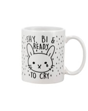 Shy Bi and Ready to cry Mug front