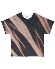 Black Tie Dye All-over T-Shirt front