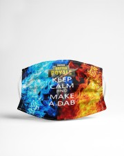 Keep calm and make a dab Cloth face mask aos-face-mask-lifestyle-22