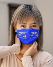 Ken Jeong And Joel Mchale The Darkest Timeline Cloth face mask aos-face-mask-lifestyle-18