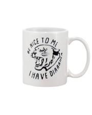 BE NICE TO ME Mug front